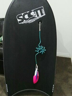 Scott body board with billabong cover