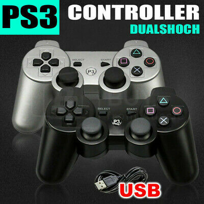 Dual Shock Wireless Bluetooth Game Controller Gamepad for PS3 PlayStation 3
