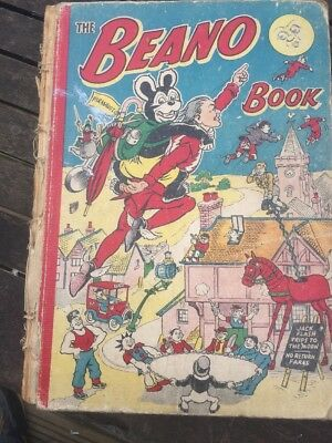 THE BEANO BOOK 1953 vintage comic annual
