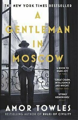 A Gentleman in Moscow by Towles, Amor Book The Fast Free Shipping