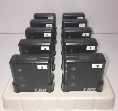 LRS Long Range Systems RX-SP4 Rechargeable Restaurant Server Pager