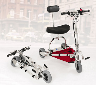 TravelScoot Deluxe Airtraveler Lightweight Mobility Scooter