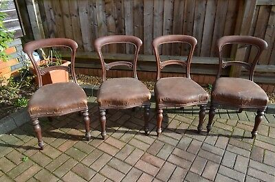 Antique Chairs set of 4