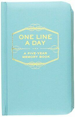 One Line a Day: A Five-Year Memory Book by Chronicle Books Diary Book The Fast