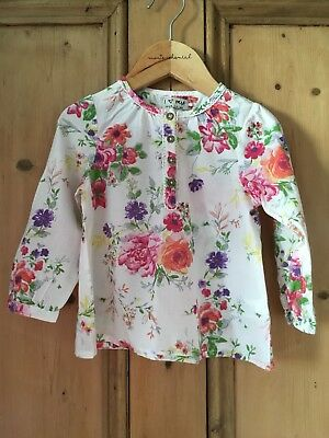 Next Baby Girls Floral Smock Summer Tunic Top 18-24 Months