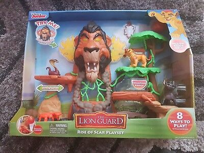 Lion Guard Rise Of Scar Play Set (BNIB). Best price available.