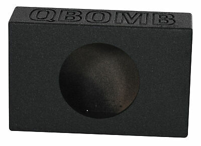 "Rockville RQT10V Single 10"" Side Ported Shallow Slim Subwoofer Sub Box Enclosure"