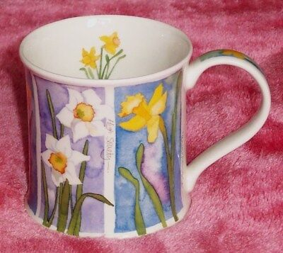 Dunoon Fine Stoneware Flowers Mug Designed By Emma Ball