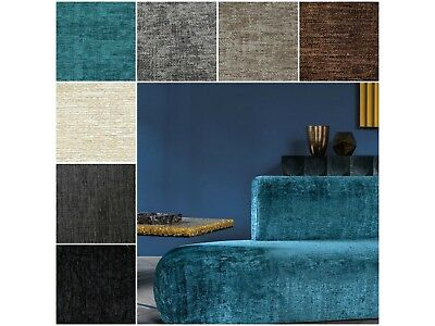 Quality Textured Chenille Upholstery Fabric for Sofas Cushions Curtains Chairs
