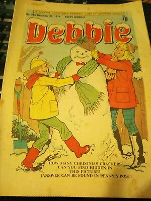 Debbie Comic Dec 31 1977 No 255 The Snowflake Ballet