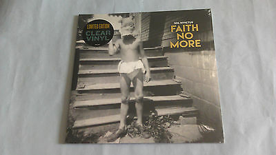 Lp-Faith No More-Sol Invictus-Clear Vinyl-Still Sealed