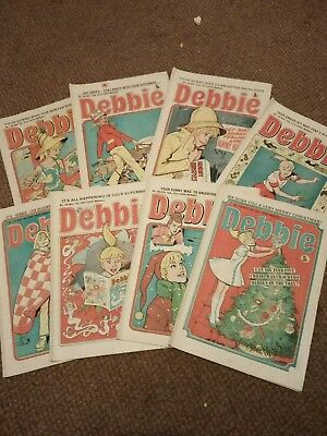 8 Debbie Comics 1975 Victory Jones And The Queen Of Diamonds