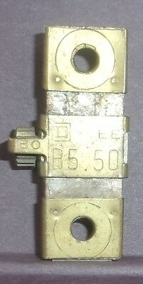 LOT OF 2 SQUARE D OVERLOAD RELAY THERMAL UNIT B5.50