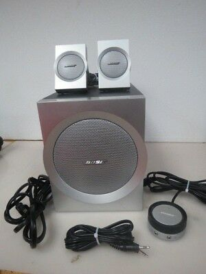 Bose Companion 3 SERIES I Multimedia Computer Speakers System Set  2796K