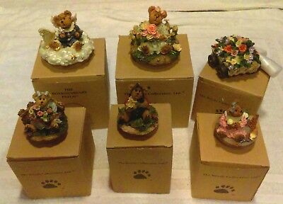 lot of Boyds Bears Collection Ltd candletoppers Boyds Bears & Friends pieces