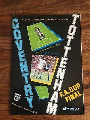Coventry city v Tottenham Hotspur 1987 FA Cup Final