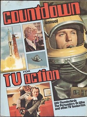 COUNTDOWN Annual 1973 - UFO/ Thunderbirds/ Dr. Who/ Captain Scarlet/ Persuaders
