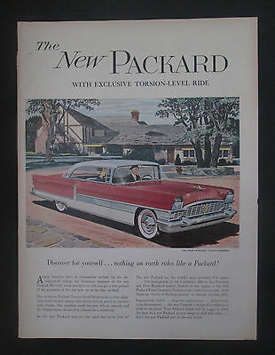 New Packard Full Size 1955 Sedan/Coupe Vintage Double Page Print Ad