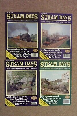 Back Issues : STEAM DAYS MAGAZINES : Apr, Jul & Dec 2006 PLUS Feb 2010.