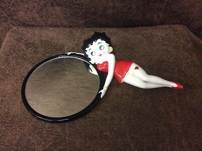 Vintage Betty Boop Wall Mirror 1983 By Vandor KFS Rare Ceramic