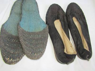 2 Pairs of Vintage Chinese Shoes