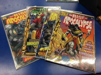Rise of Apocalypse 1 2 3 4 Complete Set Series Run Lot 1-4 Marvel X-Men VF/NM