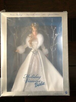 2003 Winter Fantasy Holiday Visions Barbie Doll Special Edition  B2519 Mint Nrfb