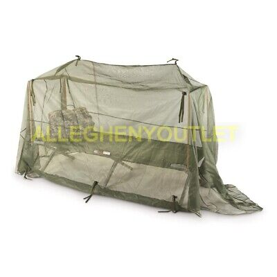 US Military LARGE SIZE Fine Mesh Insect Bar Field Cot Tent MOSQUITO NETTING VGC  sc 1 st  PicClick & NEW US Army Insect Mosquito Net Bar Military Field Netting Cot ...