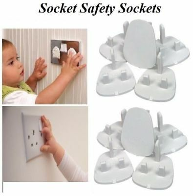 New Electrical Plug Protector Socket Safety Covers Child Baby Mains Socket Cover