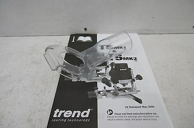 Trend Dust Extraction Adaptor Spout Taken From A T5E Router Wp-T5/074A