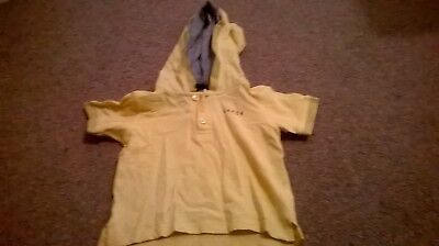 Yellow Boys ted baker t shirt 12 -18 months hooded polo t-shirt