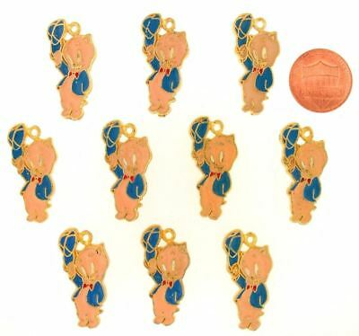 10 Piece Porky Pig Charms Warner Bros Looney Tunes Wb Store 10 Piece Lot Set L16
