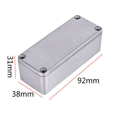1590A Effects Pedal Aluminums Stomp Box Enclosures for Musical Instrument Cases