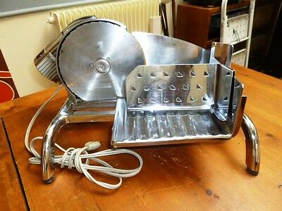 Rare Et Belle Trancheuse Usa Slice Crafter 110 V Metal Chrome