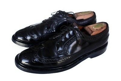 Florsheim Imperial Shell Cordovan V-Cleat Wingtip Dress Shoes 9.5C