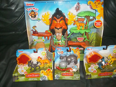 Just Play Lion Guard The Rise of Scar Play Set plus 3 sets