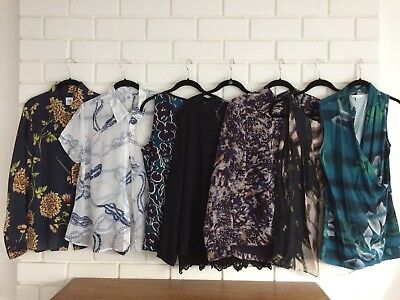 Set of 7 Cabi Blouses Size Medium, Various Years (1 from Limited Addition), EUC