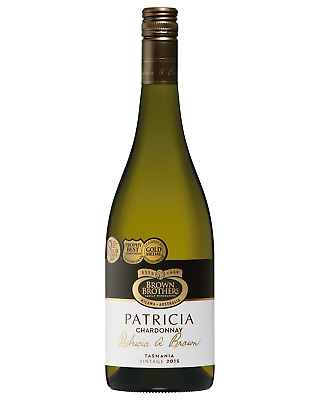Brown Brothers Patricia Chardonnay case of 6 Dry White Wine 750mL