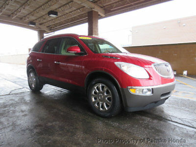 2012 Buick Enclave FWD 4dr Premium FWD 4dr Premium SUV Automatic Gasoline V6 Cyl RED