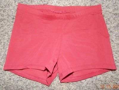 Youth Size Medkum--Katrina Activewear Brand Maroon Dance Shorts--Excellent