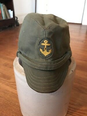 WW2 Imperial Japanese Navy Landing Force Enlisted Field Cap