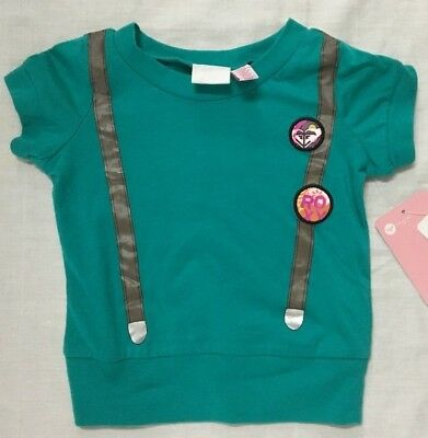 "Girls Roxy Shirt Sz Inf. Todd L ""Suspenders"" Kid's Shirt"