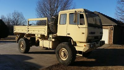 High Bid Wins! ! 1998 M1078 4X4 Military Truck Only 25K Miles With Title ! ! ! !