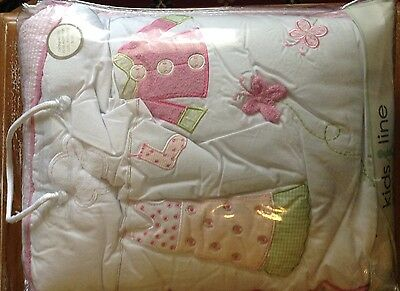 Kidsline Baby Girl Cot Bedding 6 Piece Set  / Out Of Production / Brand New