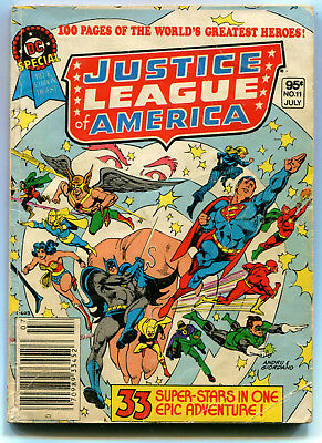 DC Special 11 JUSTICE LEAGUE OF AMERICA Good 1.8 Blue Ribbon Digest 1981