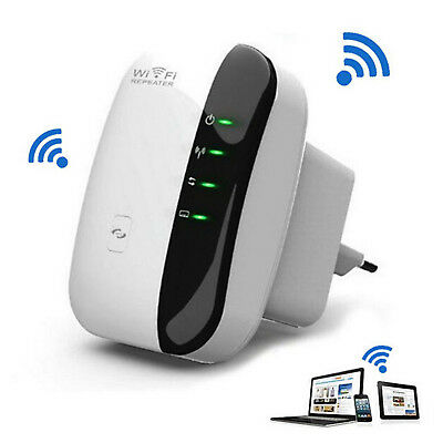 AU G 300Mbps Wireless N 802.11 Wifi Repeater AP Range Router Extender Booster*
