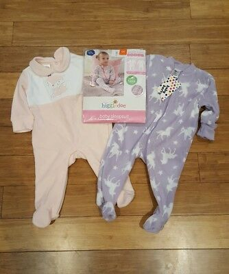 3 baby girls size 00 suits NWT