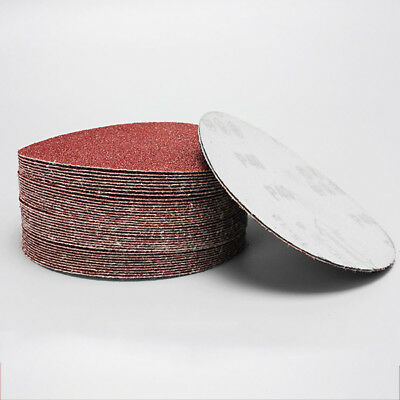 10 Pcs 4'' inch (100mm) Sander Disc Sanding Pad 40-2000 Grit Polishing Sandpaper