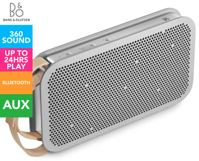 BeoPlay A2 Portable Bluetooth Speaker - Silver