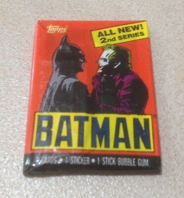 1989 Topps Batman (The Movie) Series 2 - Wax Pack (Batman/The Joker Variation)